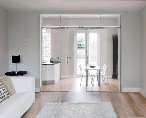 Puertas de paso de cristal correderas aluminios leganes - Puertas correderas de cristal precios ...